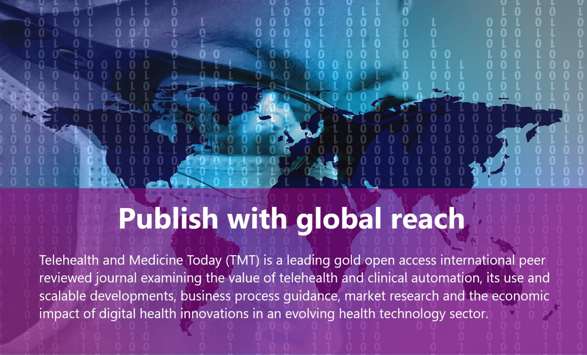 Telehealth and Medicine Today gold open access journal